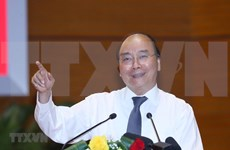 Premier vietnamita elogia a los medios de prensa por sus aportes a la lucha contra COVID-19