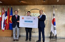 Corea del Sur respalda a la ASEAN para mejorar la capacidad de detección del COVID-19