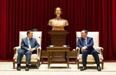 Hanoi se compromete a impulsar lazos con Laos