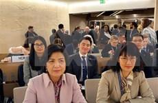 Asiste Vietnam a reunión del Consejo Ejecutivo del GICHD