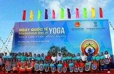Celebran en provincia vietnamita de Quang Ninh Día Internacional del Yoga