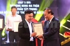 Entregan en Vietnam premios a obras periodísticas más destacadas