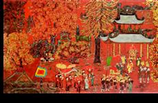 Pinturas vietnamitas serán subastadas en línea