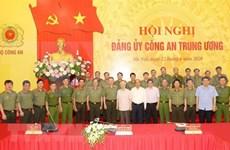 Exhortan a mayores esfuerzos para cumplimiento de misiones políticas de la policía vietnamita