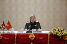 Fortalecen Vietnam y Reino Unido cooperación en defensa