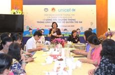 Destacan en Ciudad Ho Chi Minh importancia de la prensa en protección infantil