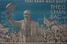 Inauguran exhibición de pinturas de propaganda de la guerra de Vietnam