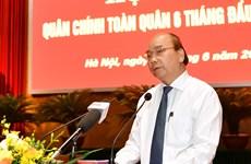 Enfatiza premier de Vietnam aportes del ejército en desarrollo socioeconómico nacional