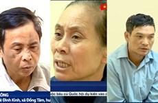 Enjuician a 29 acusados en caso de disturbio en comuna suburbana de Hanoi