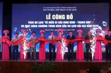 "Anuncian en Vietnam recorrido turístico ""Regreso a la zona patrimonial Ninh Binh-Thanh Hoa"""