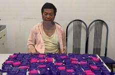 Detienen en Vietnam a individuo con más de 43 mil pastillas de metanfetamina