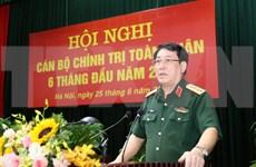 Fortalecen tareas políticas e ideológicas en el Ejército Popular de Vietnam