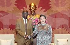 Máxima legisladora recibe al director del Banco Mundial en Vietnam