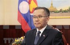 Laos aprecia papel de Vietnam como presidente rotativo de la ASEAN