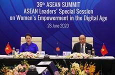 ASEAN por promover empoderamiento femenino en era digital