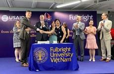 Estados Unidos financia fondo millonario para la Universidad Fulbright en Vietnam