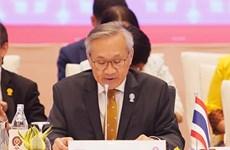 Tailandia anuncia resultados de reuniones ministeriales para Cumbre de ASEAN