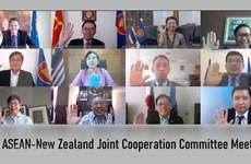 ASEAN y Nueva Zelanda se comprometen a fortalecer asociación estratégica