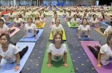 Provincia vietnamita acoge Día Internacional del Yoga