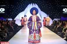 Vitalidad de trajes antiguos vietnamitas