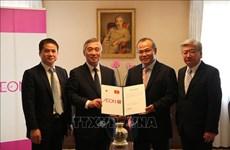 Fundación AEON 1% Club apoya a estudiantes vietnamitas afectados por COVID-19 en Japón