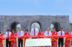 Finalizan proyecto de restauración de Ciudadela de dinastía Ho