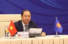 Efectúan XXVI Consulta de altos funcionarios de la ASEAN-China