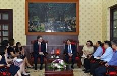 Vietnam y Estados Unidos buscan ampliar cooperación con la prensa