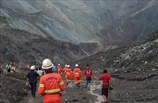 Ascienden a 113 los muertos en derrumbe de mina de jade en Myanmar