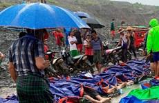 Vietnam expresa condolencias a Myanmar ante graves pérdidas por derrumbe de mina