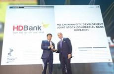 """HDBank honrado en acto de premiación """"HR Asia Awards 2020"""""""