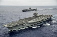 Envía Estados Unidos dos portaaviones al Mar del Este