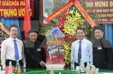 Felicitan a secta budista de Hoa Hao por aniversario 81 de su fundación