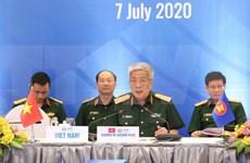 Refuerzan cooperación en defensa entre ASEAN y sus socios en medio de la pandemia