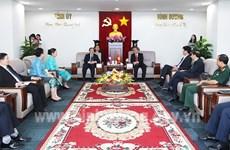 Vietnam y Laos fomentan cooperación entre localidades