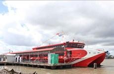 Inauguran primera ruta por mar en Ca Mau, provincia del extremo sur de Vietnam