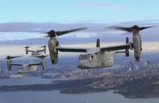 Aprueba Estados Unidos venta de helicópteros MV-22 Osprey a Indonesia
