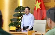 """Vicepremier vietnamita destaca la efectividad de la """"diplomacia de COVID"""""""