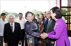Elogia presidenta del Parlamento vietnamita esfuerzos de Binh Phuoc para impulsar crecimiento económico