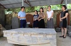 Descubren reliquia antigua en provincia vietnamita de Ninh Binh
