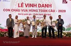 Puente televisivo honra a descendientes de los reyes Hung