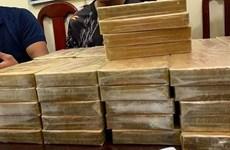 Capturan en Vietnam a tres narcotraficantes y decenas de bloques de heroína