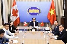 Efectúan Vietnam y Canadá segunda consulta política a nivel de vicecancilleres