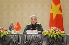 Refuerza Vietnam y Sudáfrica cooperación en defensa
