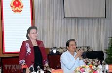 Piden a provincia de Long An promover conexión económica regional