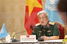 Listos oficiales vietnamitas para misión de mantenimiento de paz de la ONU