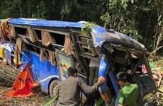 Cinco muertos en accidente de autocar en provincia vietnamita en Kom Tum