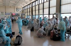 Más de 240 ciudadanos vietnamitas en Singapur se repatrian con éxito