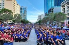 Jóvenes de Ciudad Ho Chi Minh se incorporan a actividades voluntarias