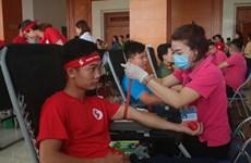 """Programa humanitario """"Recorrido Rojo"""" recolecta 10 mil unidades de sangre en Vietnam"""